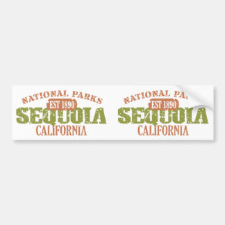 Sequoia National Park Car Bumper Sticker