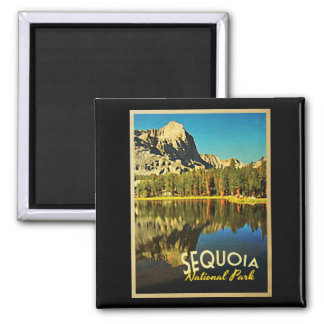 Sequoia National Park California Magnet