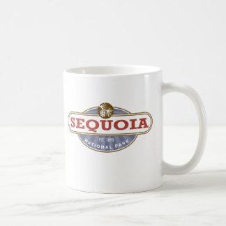 Sequoia National Park Classic White Coffee Mug