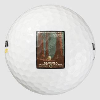 Sequoia National Park Golf Balls