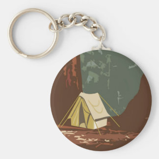 Sequoia National Park Keychain