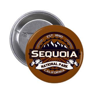 Sequoia National Park Logo 2 Inch Round Button