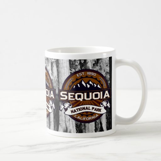 Sequoia National Park Logo Coffee Mug