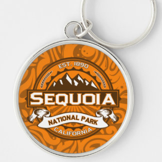 Sequoia National Park Logo Keychain