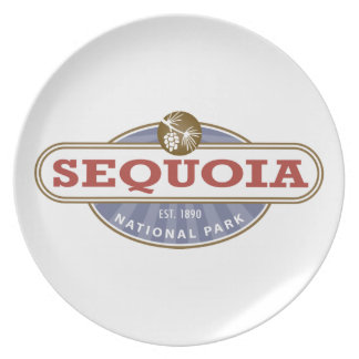Sequoia National Park Melamine Plate