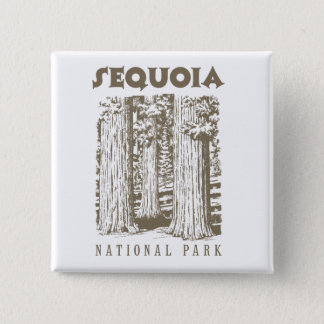 Sequoia National Park Pinback Button