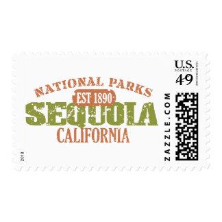 Sequoia National Park Postage Stamp