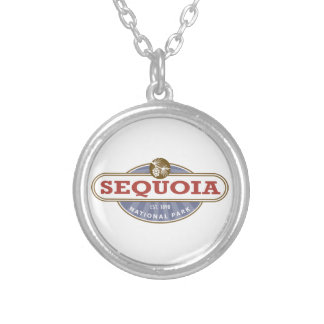 Sequoia National Park Silver Plated Necklace