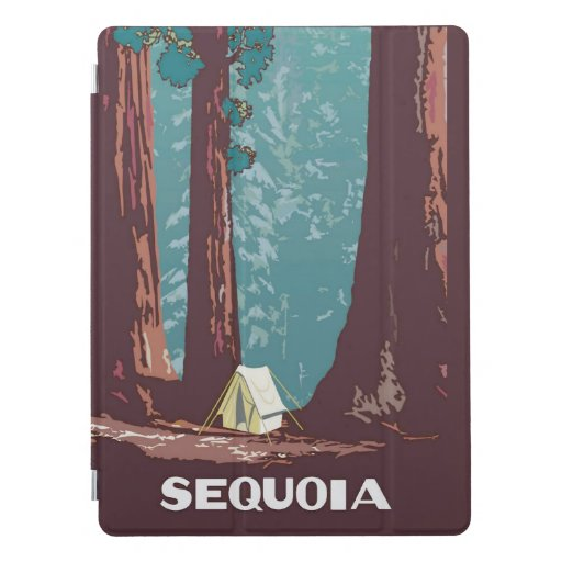 Sequoia National Park Tent Camping iPad Pro Cover