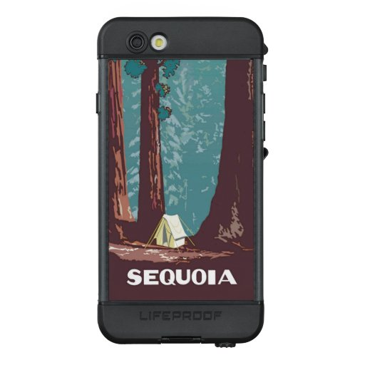 Sequoia National Park Tent Camping  LifeProof NÜÜD iPhone 6s Case