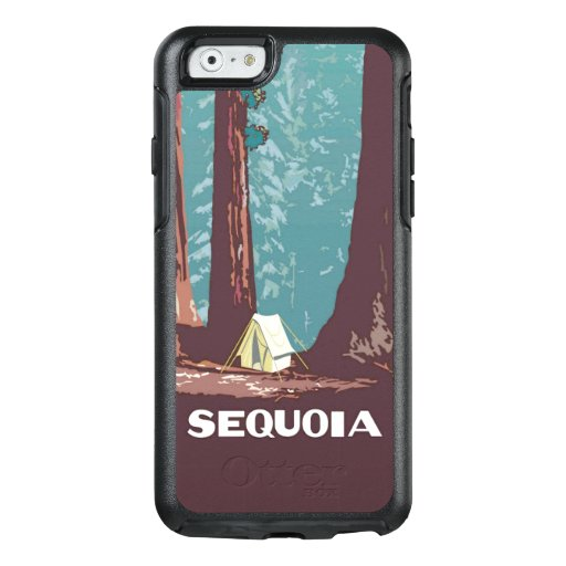 Sequoia National Park Tent Camping  OtterBox iPhone 6/6s Case