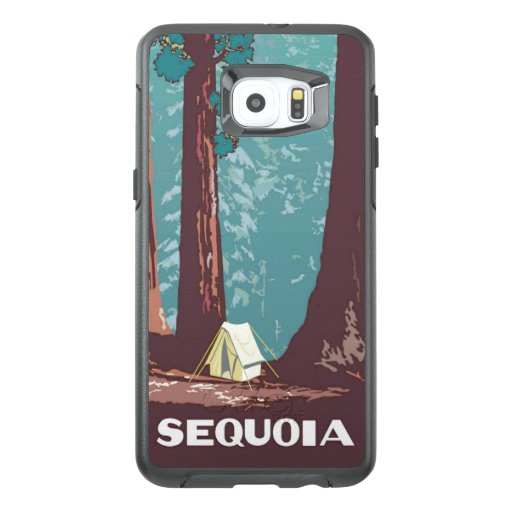 Sequoia National Park Tent Camping OtterBox Samsung Galaxy S6 Edge Plus Case