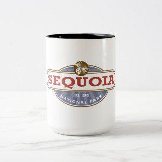 Sequoia National Park Two-Tone Coffee Mug