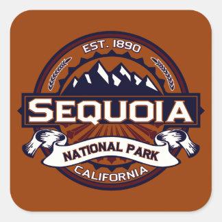 Sequoia Vibrant Square Sticker