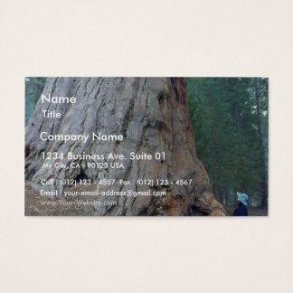 Sequoias Trees Giants Business Card