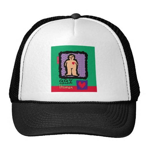 Ser humano del 99% gorras de camionero
