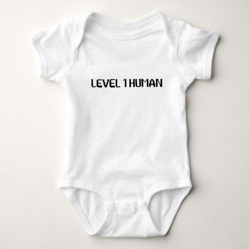 Ser humano del nivel 1 mameluco de bebé