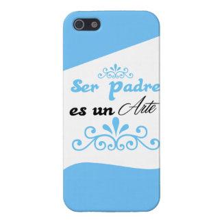 """Ser padre es un Arte"" iPhone 5 Carcasa"