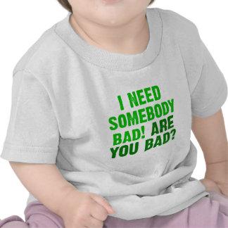 ser-usted-malo-verde camiseta