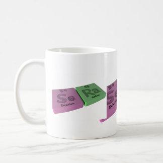 Sera as Se Selenium and Ra Radium Coffee Mug