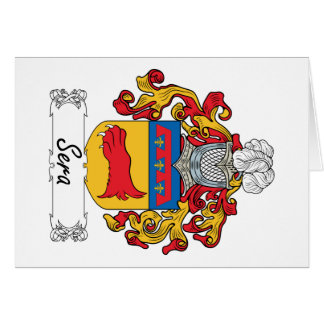 Sera Family Crest Card