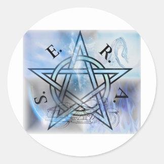SERA Fist Gen Classic Round Sticker