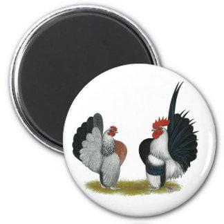Serama Bantams 2 Inch Round Magnet