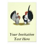 Serama Bantams Personalized Invite