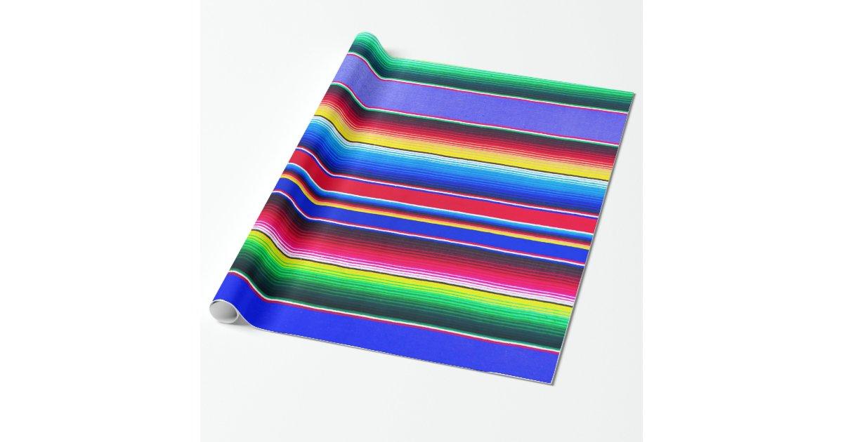 Serape Stripe Print Lavender Wrapping Paper Zazzle Com