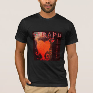 seraph_brick wall heart mural T-Shirt