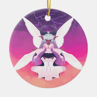 Seraphim Ceramic Ornament