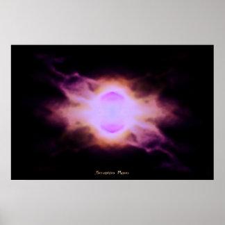 Seraphim Moon Poster