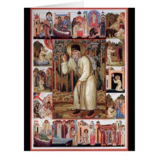 Seraphim of Sarov Card
