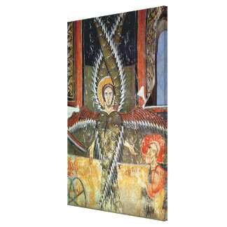Seraphim purifying the lips of Isaiah Canvas Print