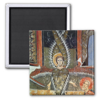 Seraphim purifying the lips of Isaiah 2 Inch Square Magnet