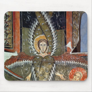 Seraphim purifying the lips of Isaiah Mouse Pad