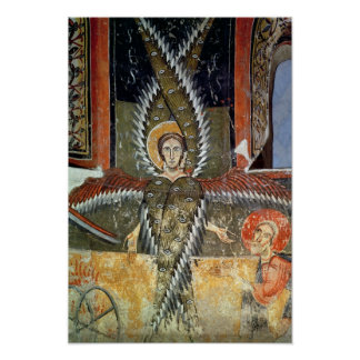 Seraphim purifying the lips of Isaiah Poster