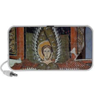 Seraphim purifying the lips of Isaiah Portable Speaker