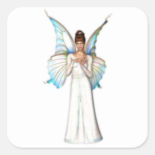 Seraphina Fairy Square Sticker