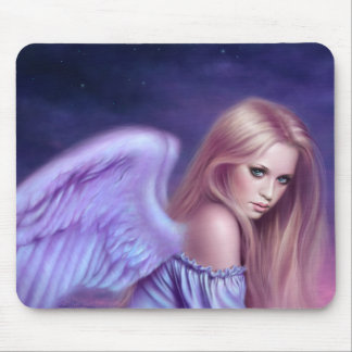 Seraphina Guardian Angel Art Mousepad