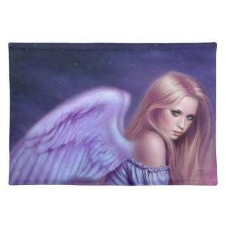 Seraphina Guardian Angel Art Placemat Cloth Place Mat