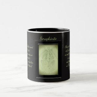Seraphinite Crystal Fairy Two-Tone Coffee Mug