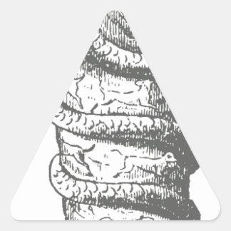 Serapis Pegatina Triangular