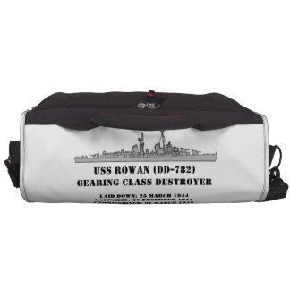 Serbal de USS (DD-782) Bolsas Para Portátil