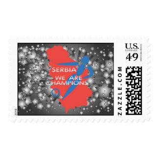Serbia 2010 postage