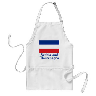 Serbia and Montenegro Adult Apron