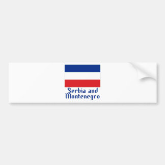 Serbia and Montenegro Bumper Stickers