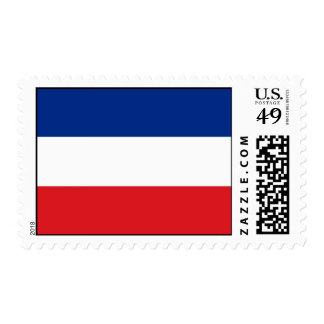 Serbia and Montenegro Flag Postage Stamp