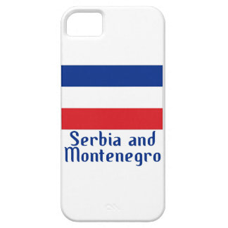 Serbia and Montenegro iPhone SE/5/5s Case
