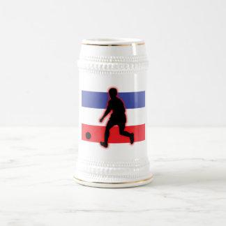 Serbia and Montenegro Striker 18 Oz Beer Stein